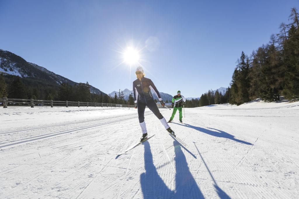 Langlauf Skating - Quelle: Graubünden.ch